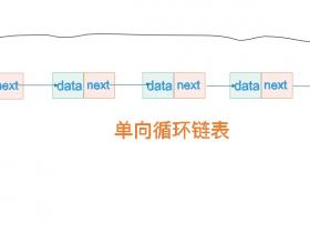 单向循环链表常用方法代码实现